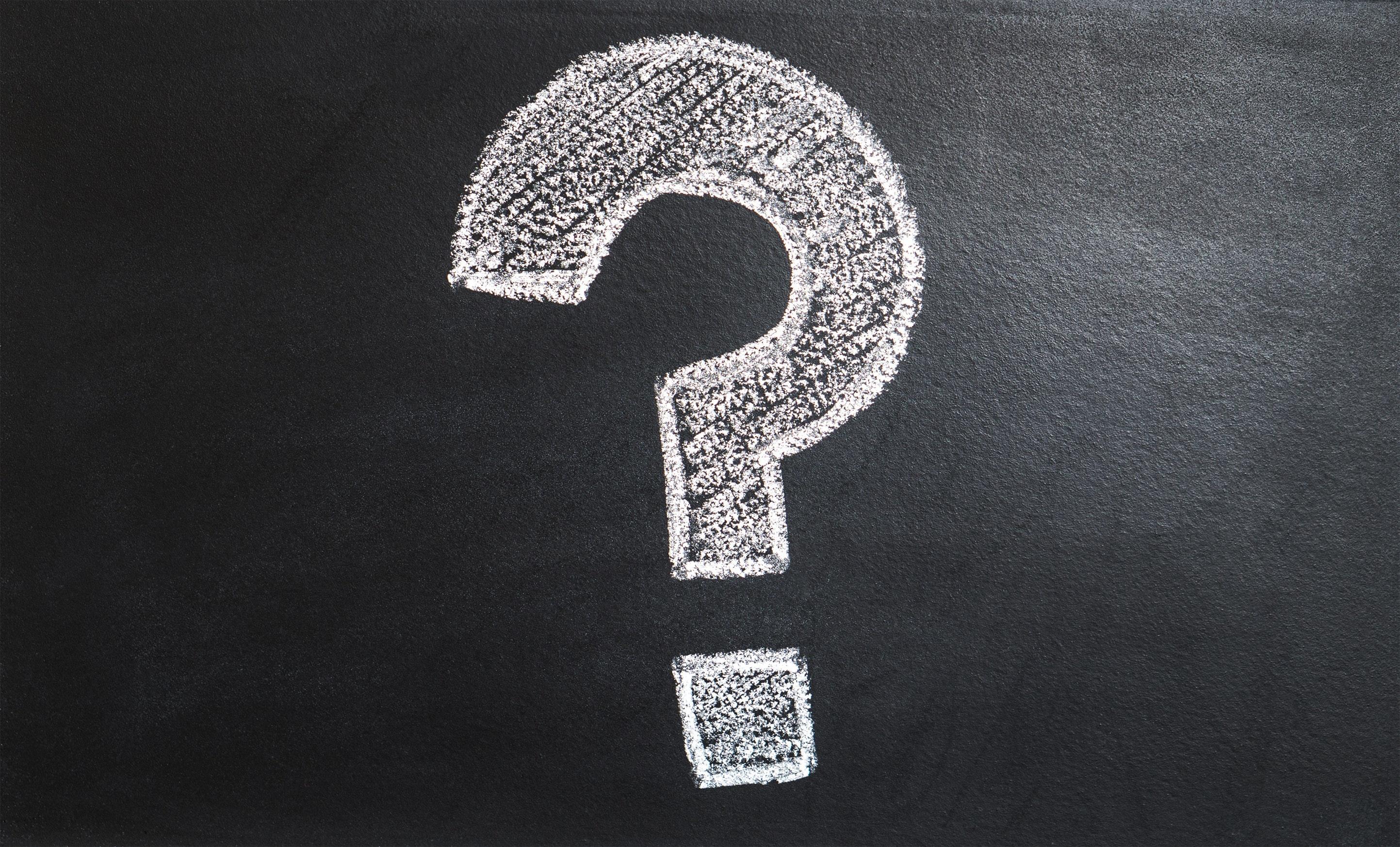 Fragen stellen braucht viel Erfahrung. pluswert hat diese.