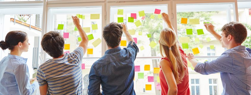 Design Thinking im Follow up Prozess nach Mitarbeiterbefragungen bzw. Kundenbefragungen