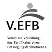 V.EFB Verein zur Verleihung des Zertifikates eines Entsorgungsfachbetriebes